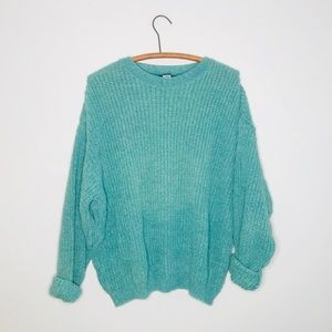 Vintage Retro 90's Chunky Knit Oversized Sweater